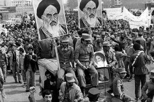 The 1979 Islamic revolution in Iran