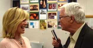 Dan Wooding interviewing Debby Boone