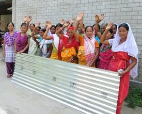 GFA women with sheet smaller