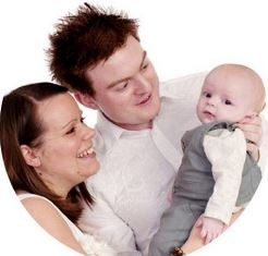Matthew Becky and Baby Josiah