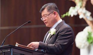 Pastor Lim preaching