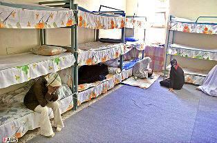 Women inside Evin prison smaller