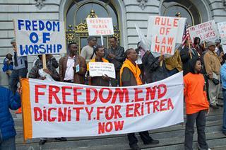 mi Eritrea Protest Vigil Marks Tenth Anniversary Of Church Closures 08 12 2017