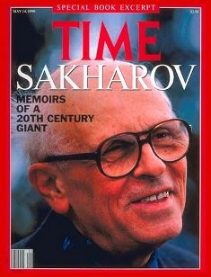 Andraei Sakharov on cover of Time