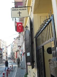 Brunsons church in Izmir