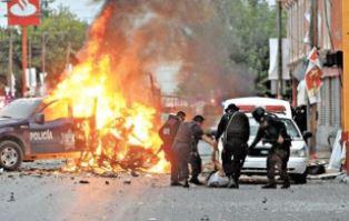 Car bombing smaller