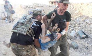 David Eubank rescues civillian in Mosul use