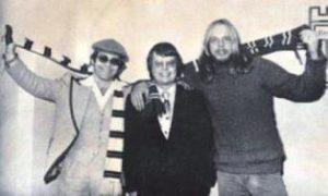Elton John Dan Wooding and Rick Wakeman smaller