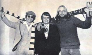 Elton John Dan Wooding and Rick Wakeman smaller