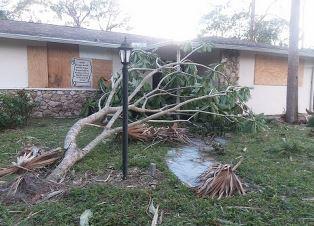 Kevin Gould home damage smaller