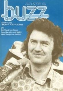 Kevin Gould on the cover of Buzz