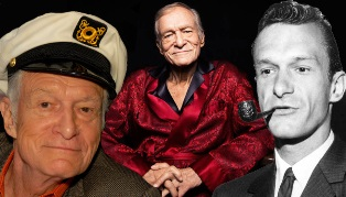 RIP Hugh Hefner through the years smaller