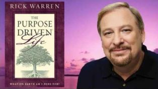 Rick Warren with The Purpose Driven Life