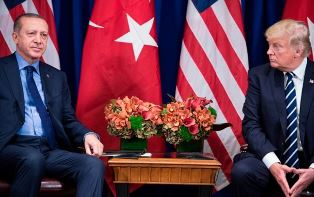 Turkish leader with Trump smaller