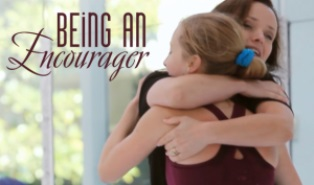 Being an encourager smaller