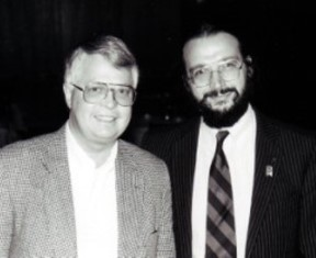 Dan Wooding with Alexander Ogorodnikov
