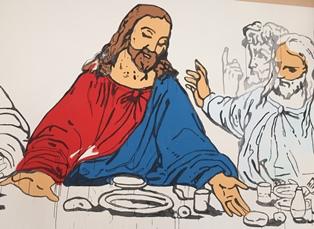 Last Supper Marfa Tx