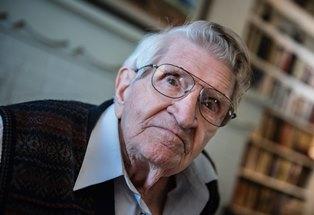 Max Evans at 93 smaller