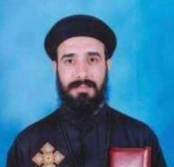 Murdered Egyptian priest smaller
