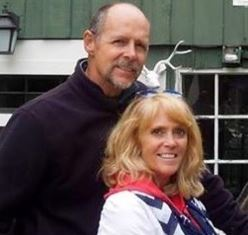 Pastor Mary Bangs with husband