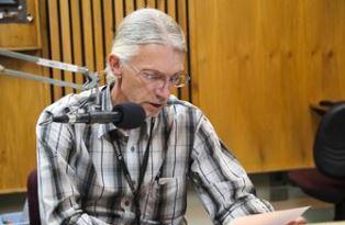 Ralph Kurtenbach at the microphone