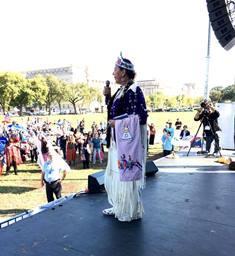 Rita Bear Gray of the Cree Nation smaller