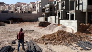 Settlement going up in West Bank