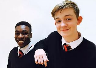 Two students at Phoenix