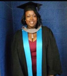 University graduation for a former Phoenix student