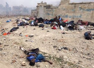 Bodies in Mosul smaller