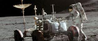 James Irwin on the moon
