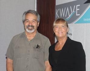 Len and Cheryl Hancock Watts.JPG at KWVE