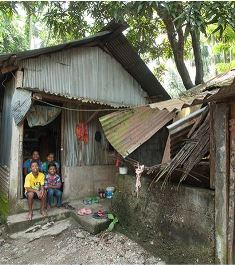 Living conditions for a family smaller