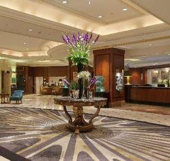 Lobby of the Hilton Park Lane