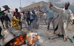 Muslims attack Christians in Nigeria smaller