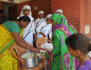 Patients at leprosy hospital receive food GFA smaller