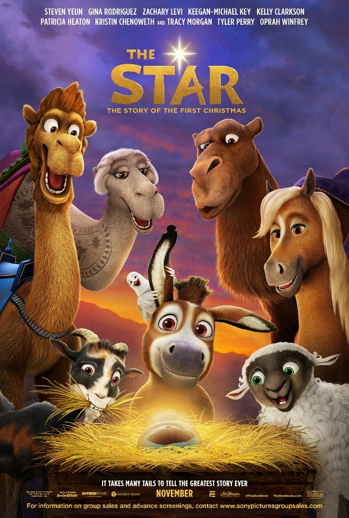 The Star film poster © 2017 CTMG, Inc. All Rights Reserved.