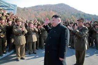 mi North Korean leader Kim Jong Un reviews soldiers.11.30.2017