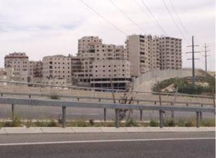Arab village under construction outside of Jerusalem smaller
