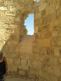 Byzantine church Masada smaller