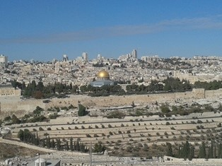 From Mt of Olives smaller use