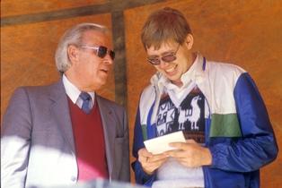 Harold and Evangelist Hermano Pablo 1988 smaller