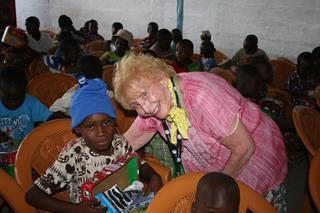mi Annette Sova in Togo for Operation Christnas Child 2017.12 01 2017