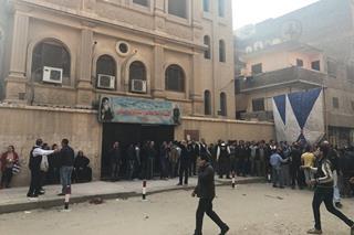mi Gunmen attacked the Mar Mina Church in Cairo on Friday Dec.29
