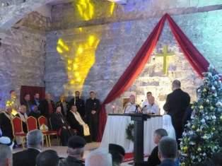 Iraq MidnightMass in Mosul church smaller