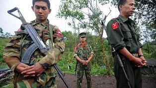 Kachin Independece Army soldiers smaller
