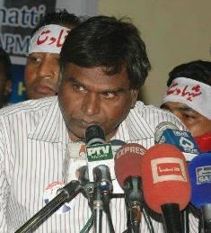 Pic 5 Kalild Gill Chairman Minorities Revolutionary Movement Pakistan. smaller