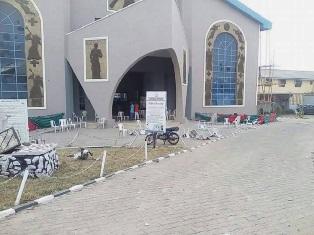 Ransacked church in Kwara smaller