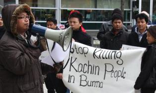 Stop killing Kachin Christians in Burma smaller