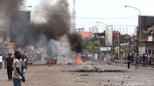 Street Violence in the DRC smaller